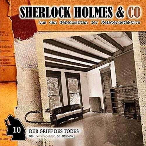 Sherlock Holmes & Co Hörspiel CD 010 10 Der Griff Des Todes NEU & OVP