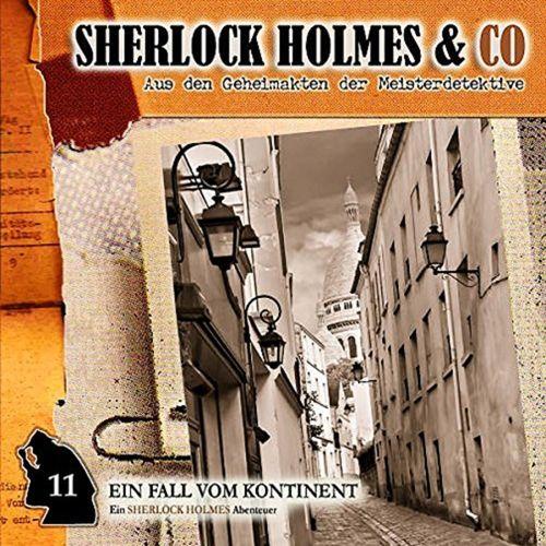 Sherlock Holmes & Co Hörspiel CD 011 11 Ein Fall vom Kontinent  NEU & OVP