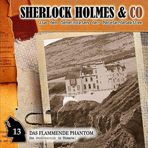 Sherlock Holmes & Co Hörspiel CD 013 13 Das flammende Phantom  NEU & OVP