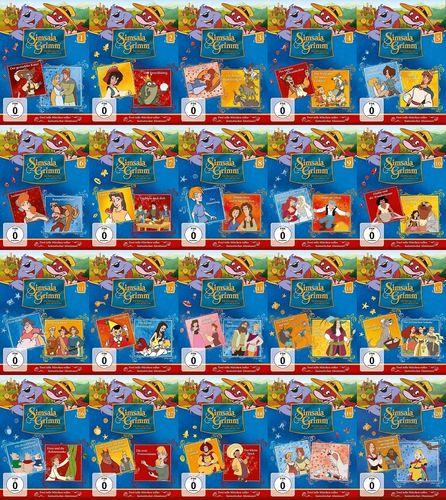 DVD SimsalaGrimm 1 - 20 x DVDs komplett Sammlung TV-Serie 40 Episoden NEU