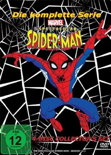 DVD The Spectacular Spider-Man komplett Box TV-Serie Marvel 4x DVDs 26 Episoden OVP & NEU