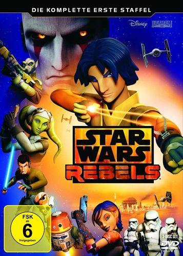 DVD Star Wars Rebels komplette Staffel Season 1 erste TV-Serie NEU & OVP