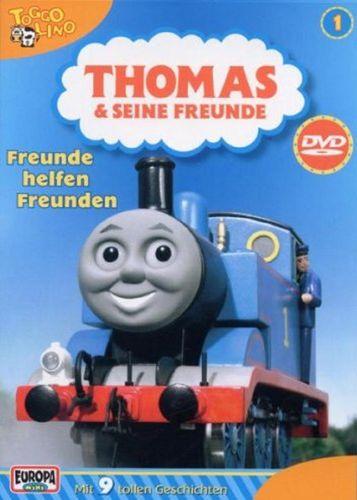 DVD Thomas und seine Freunde 01 1 Freunde helfen Freunden TV-Serie 9 Folgen OVP NEU