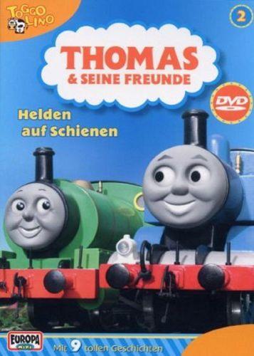 DVD Thomas und seine Freunde 02 2 Helden auf Schienen TV-Serie 9 Folgen OVP NEU