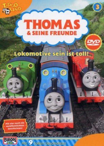DVD Thomas und seine Freunde 03 3 Lokomotive sein ist toll! TV-Serie 9 Folgen OVP NEU