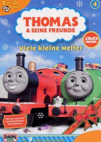 DVD Thomas und seine Freunde 04 4 Viele kleine Helfer TV-Serie 9 Folgen OVP NEU