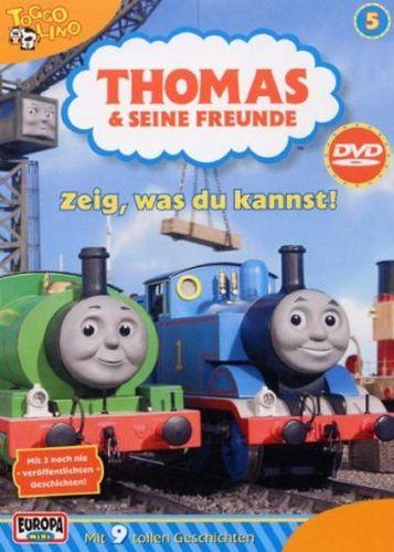 DVD Thomas und seine Freunde 05 5 Zeig, was du kannst! TV-Serie 9 Folgen OVP NEU