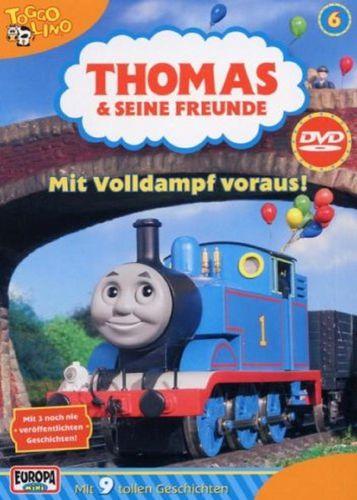 DVD Thomas und seine Freunde 06 6 Mit Volldampf voraus! TV-Serie 9 Folgen OVP NEU