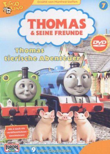 DVD Thomas und seine Freunde 07 7 Thomas tierische Abenteuer TV-Serie 9 Folgen OVP NEU