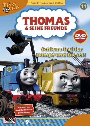 DVD Thomas und seine Freunde 11 Schienen frei für Dampf und Diesel TV-Serie 9 Folgen OVP NEU