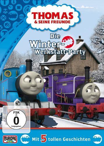 DVD Thomas und seine Freunde 35 Die Winter-Werkstatt-Party TV-Serie 5 Folgen OVP & NEU