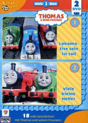 DVD Thomas und seine Freunde 2er Box Die Gleis-Box 2 TV-Serie 03+04 OVP & NEU