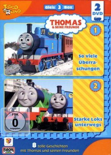 DVD Thomas und seine Freunde 2er Box Die Gleis-Box 3 TV-Serie 12+13 OVP & NEU