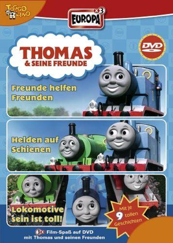 DVD Thomas und seine Freunde 3er Box 1 TV-Serie 01+02+03 OVP & NEU
