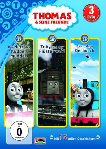 DVD Thomas und seine Freunde 3er Box 4 TV-Serie 27+28+29 OVP & NEU