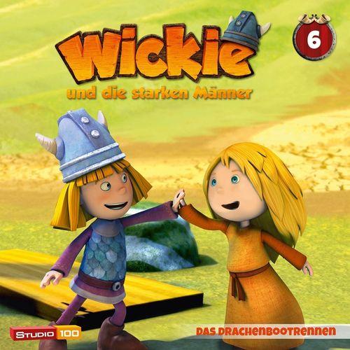 Wickie und die starken Männer Hörspiel CD 006 6 Das Drachenbootrennen Folge 34-39 CGI TV-Serie NEU