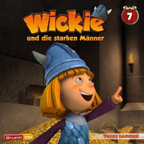 Wickie und die starken Männer Hörspiel CD 007 7 Thors Hammer Folge 40-46 CGI TV-Serie NEU
