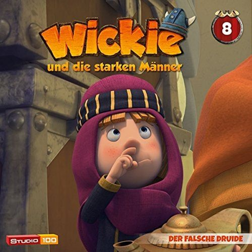 Wickie und die starken Männer Hörspiel CD 008 8 Der Falsche Druide Folge 47-52 CGI TV-Serie NEU