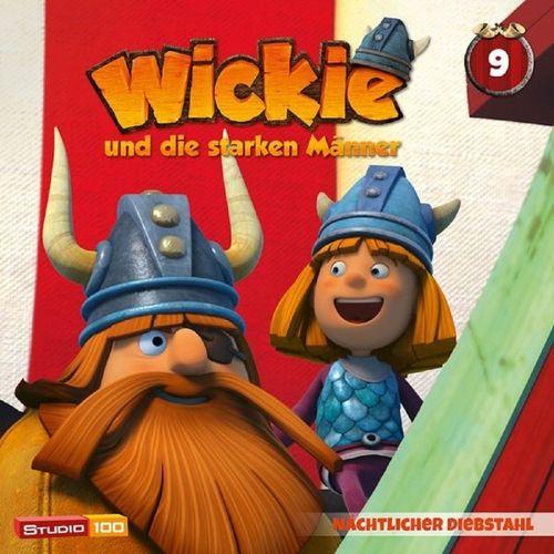 Wickie und die starken Männer Hörspiel CD 009 9 Nächtlicher Diebstahl Folge 53-58 CGI TV-Serie NEU