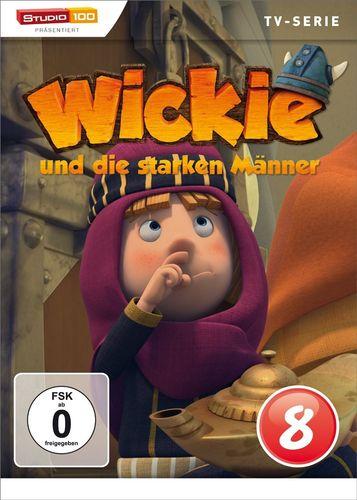 DVD Wickie und die starken Männer Box 8 Staffel 1.8 CGI TV-Serie Folgen 47-52 OVP & NEU