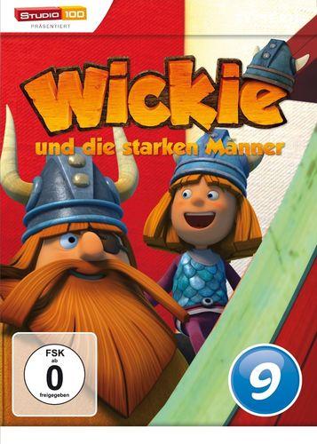 DVD Wickie und die starken Männer Box 9 Staffel 1.9 CGI TV-Serie Folgen 53-59 OVP & NEU