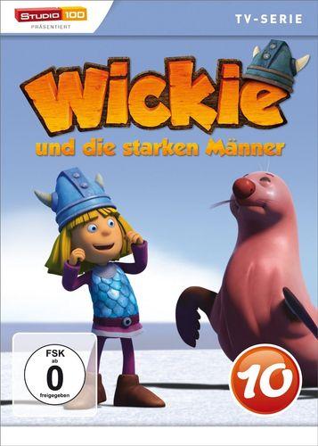 DVD Wickie und die starken Männer Box 10 Staffel 1.10 CGI TV-Serie Folgen 60-65 OVP & NEU