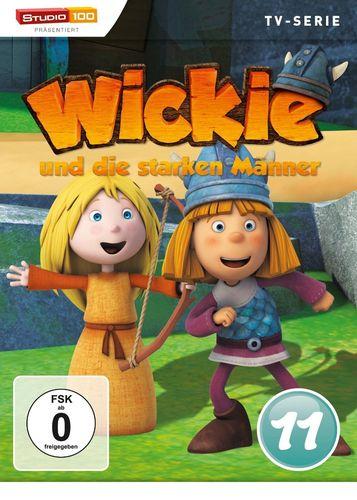 DVD Wickie und die starken Männer Box 11 Staffel 1.11 CGI TV-Serie Folgen 66-72 OVP & NEU