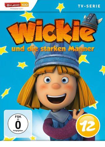 DVD Wickie und die starken Männer Box 12 Staffel 1.12 CGI TV-Serie Folgen 73-78 OVP & NEU