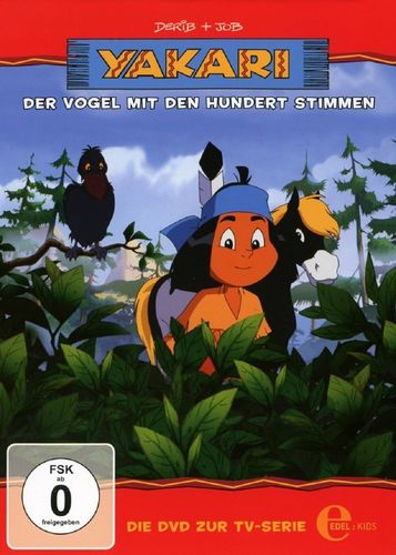 DVD Yakari 25 Der Vogel mit den hundert Stimmen  TV-Serie 4 Folgen  OVP & NEU