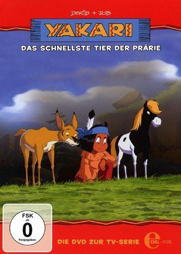 DVD Yakari 26 Das schnellste Tier der Prärie TV-Serie 5 Folgen OVP & NEU