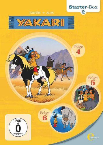 DVD Yakari Starter Box 2 mit DVD 4 + 5 + 6 mit 3x DVDs  TV-Serie 12 Folgen  OVP & NEU
