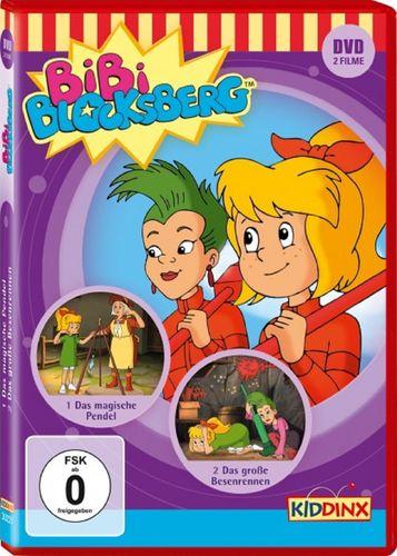 DVD Bibi Blocksberg Das magische Pendel + Das große Besenrennen NEU & OVP