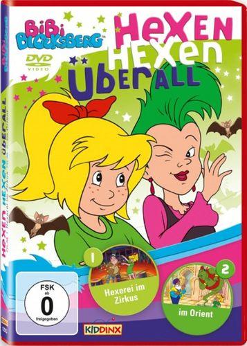 DVD Bibi Blocksberg Hexen hexen überall-Special Hexerei im Zirkus + im Orient NEU & OVP