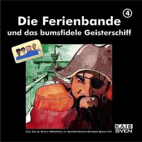 Die Ferienbande Hörspiel CD 04 4 und das bumsfidele Geisterschiff  NEU & OVP