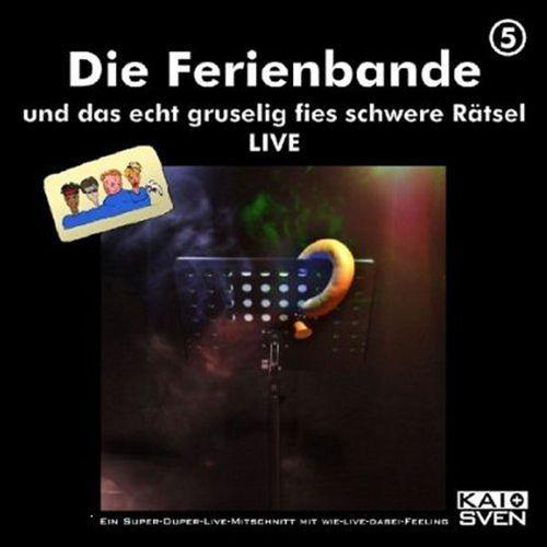 Die Ferienbande Hörspiel CD 05 5 und das echt gruselig fies schwere Rätsel 2er CD NEU & OVP