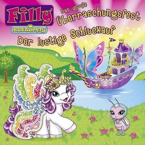 Filly Butterfly Hörspiel CD 003 3 Das große Überraschungsfest + Der lustige Schluckauf NEU & OVP