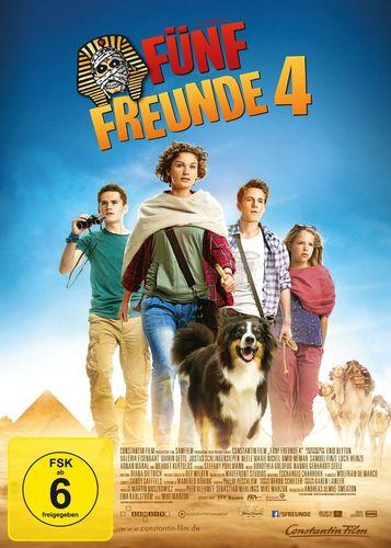 DVD 5 Fünf Freunde der Kinofilm 4 - von 2015 Kino Film NEU & OVP