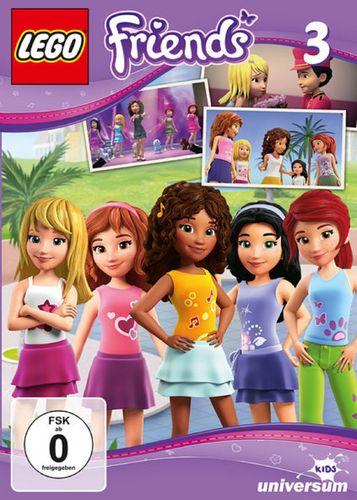 DVD LEGO ® Friends 03 3 III TV-Serie Episode 07-09 NEU & OVP