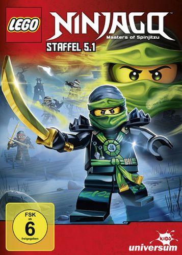 DVD LEGO ® Ninjago Masters of Spinjitzu Staffel 05 5.1 TV Serie Episoden 45-49 BOX NEU & OVP