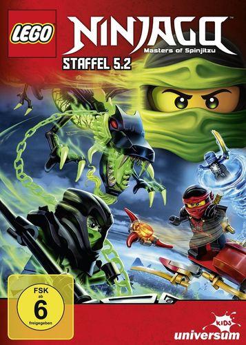 DVD LEGO ® Ninjago Masters of Spinjitzu Staffel 05 5.2 TV Serie Episoden 50-54 BOX NEU & OVP