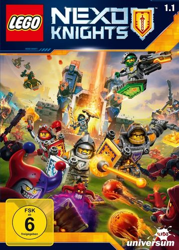 DVD LEGO ® Nexo Knights 01 1.1 TV-Serie Episoden 01-04 NEU & OVP