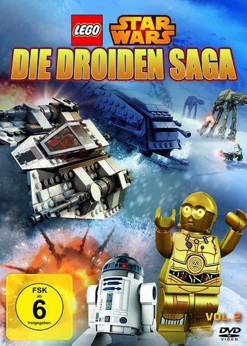 DVD LEGO ® Star Wars - Die Droiden Saga - Volume 2 NEU & OVP