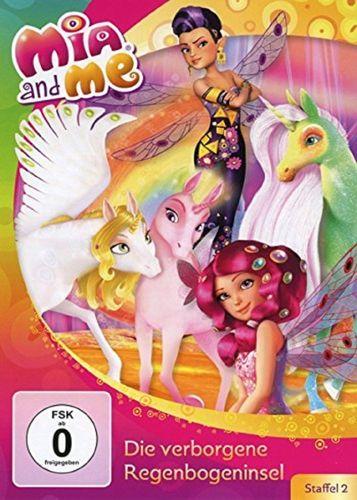 DVD Mia and Me 21 Die verborgene Regenbogeninsel Staffel 2 8 TV-Serie 15+16 OVP & NEU