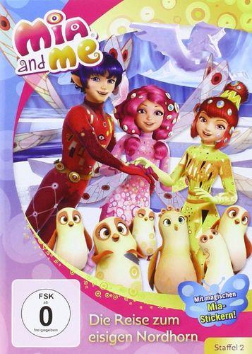 DVD Mia and Me 23 Die Reise zum eisigen Nordhorn Staffel 2 10 TV-Serie 19+20 OVP & NEU