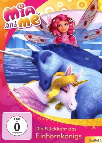 DVD Mia and Me 24 Die Rückkehr des Einhornkönigs Staffel 2 11 TV-Serie 21+22 OVP & NEU