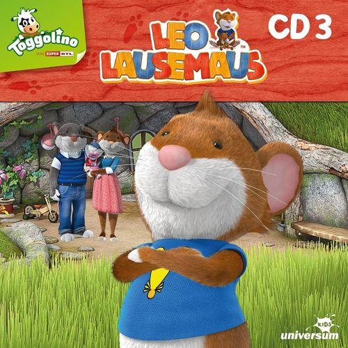 Leo Lausemaus Hörspiel CD 003 3 Papas Werkstatt TV-Serie Episode 19-27 Universum Kids NEU