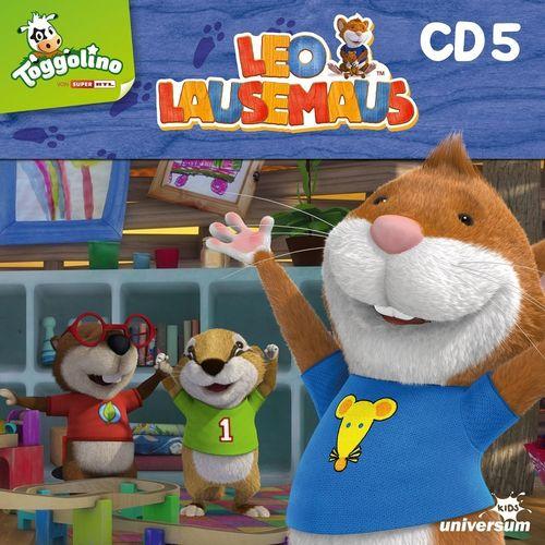 Leo Lausemaus Hörspiel CD 005 5 Ich helf dir, Mama TV-Serie Episode 37-44 Universum Kids NEU