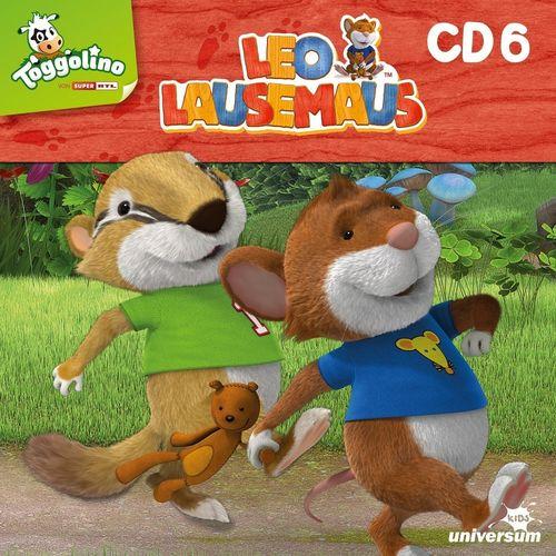 Leo Lausemaus Hörspiel CD 006 6 Heute bin ich ein Faulpelz TV-Serie Episode 45-52 Universum Kids NEU