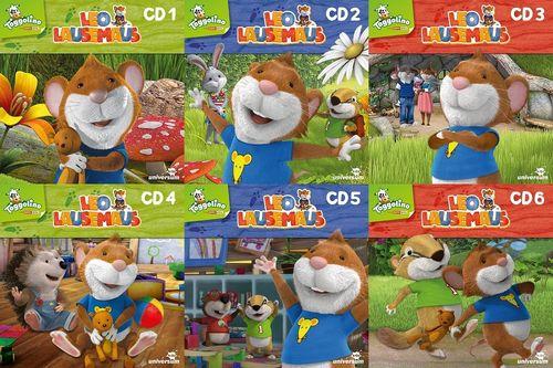 Leo Lausemaus Hörspiel CD 1 - 6 x CDs komplett Sammlung  TV-Serie Episode 01-52 Universum Kids NEU