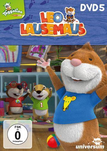 DVD Leo Lausemaus 05 5 Ich helf dir, Mama TV-Serie Episode 37-44 Universum Kids NEU & OVP